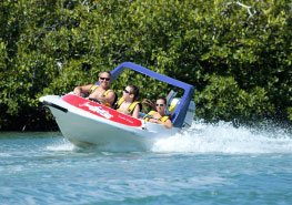 jungle tour speed boat